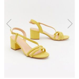Nasty Gal Faux Suede Sandals